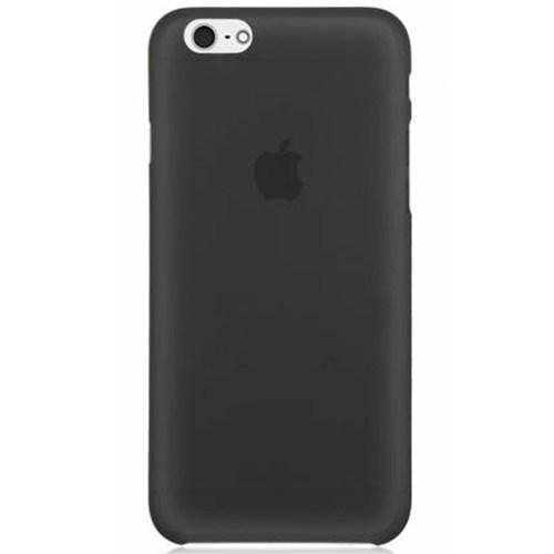 Cep Market Apple İphone 5S Kılıf 0.2Mm Antrasit Silikon