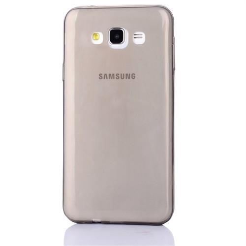 Cep Market Samsung Galaxy A7 Kılıf 0.2Mm Antrasit Silikon