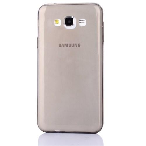 Cep Market Samsung Galaxy E5 Kılıf 0.2Mm Antrasit Silikon