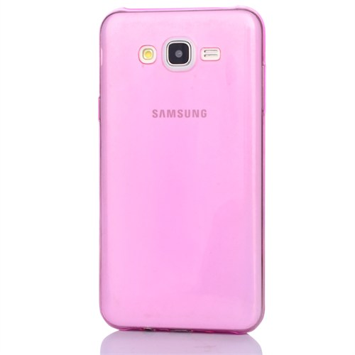 Cep Market Samsung Galaxy E5 Kılıf 0.2Mm Pembe Silikon