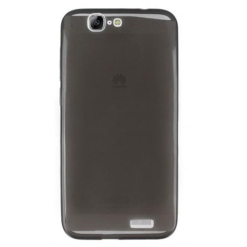 Cep Market Huawei Ascend G7 Kılıf 0.2Mm Antrasit Silikon