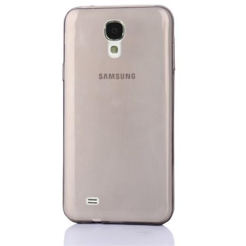 Cep Market Samsung Galaxy S4 Kılıf 0.2Mm Antrasit Silikon
