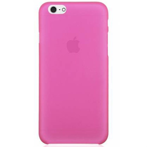 Cep Market Apple İphone 6 Kılıf 0.2Mm Pembe Silikon
