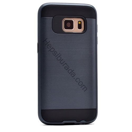 Case 4U Samsung Galaxy S7 Edge Verus Korumalı Kapak Lacivert