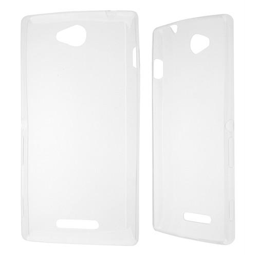Ally Sony Xperia C S39h Spada Kristal Soft Silikon Kılıf