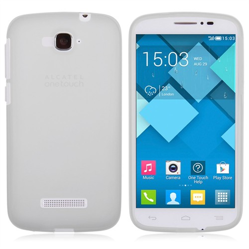 Ally Alcatel One Touch Pop C7 7040 7041X Ultra İnce Spada Soft Şeffaf Silikon Kılıf
