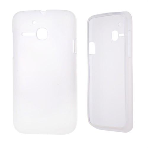 Ally Alcatel One Touch M Pop 5020 Şeffaf Silikon Kılıf