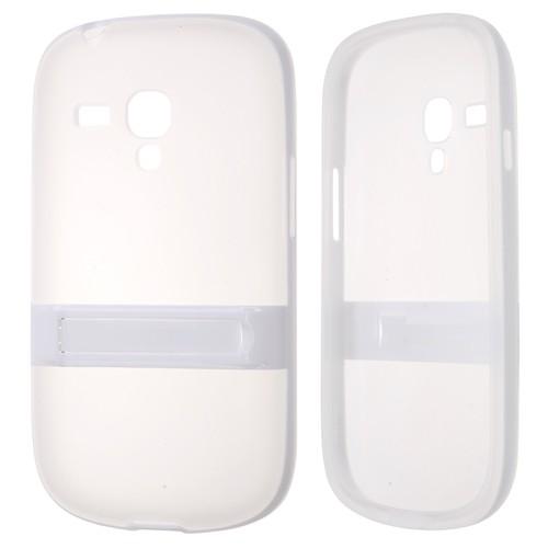Ally Samsung Galaxy S3 Mini İ8190 Standlı Silikon Kılıf