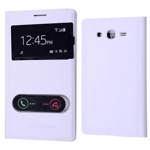 Ally Samsung Galaxy Grand Neo İ9060 İ9082 Pencereli Flip Cover Kılıf