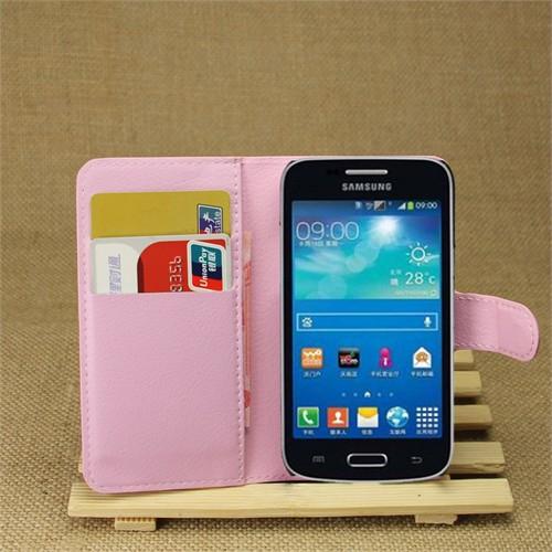 Ally Samsung Galaxy Core Plus G3502 Standlı Cüzdan Kılıf