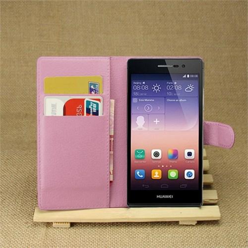 Ally Huawei Ascend P7 Standlı Cüzdan Kılıf