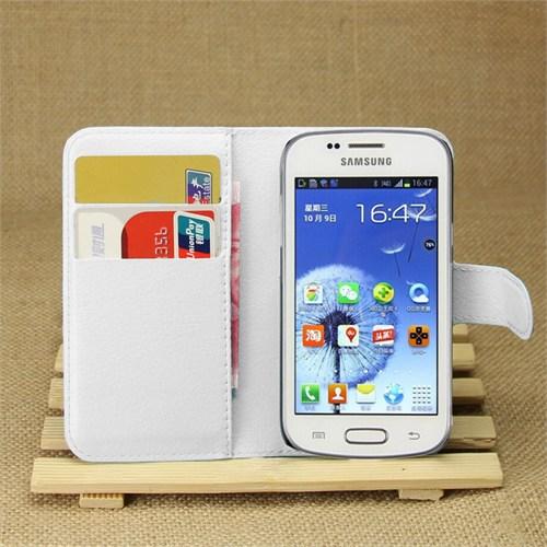 Ally Samsung Galaxy Star Pro S7260 - 7262 Standlı Cüzdan Kılıf