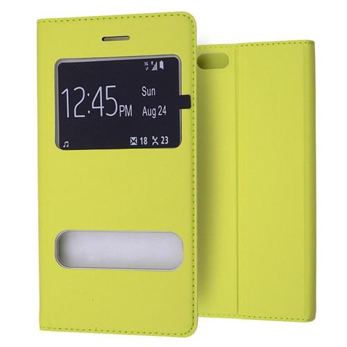 Ally İphone 6 Mıknatıslı - Stand Ve Pencereli Flip Cover Kılıf