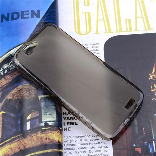 Ally Huawei Ascend G7 C199 Şeffaf Silikon Kılıf