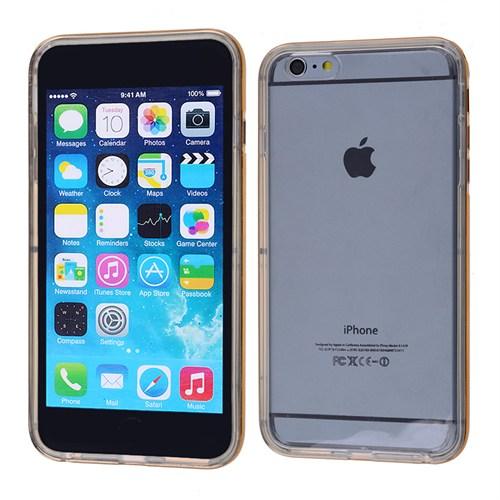 Ally Apple İphone 6 Plus Şeffaf Silikon Bumper Kılıf