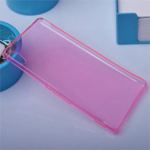 Ally Sony Xperia M4 Aqua Spada Kristal Soft Silikon Kılıf