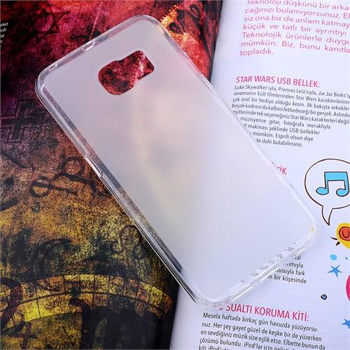 Ally Samsung Galaxy S6 Edge Şeffaf Silikon Kılıf