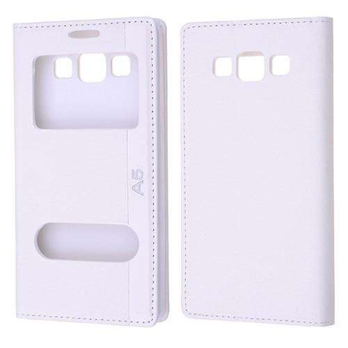 Ally Samsung Galaxy A5 Sm - A500f Standlı Mıknatıslı Pencereli Kılıf