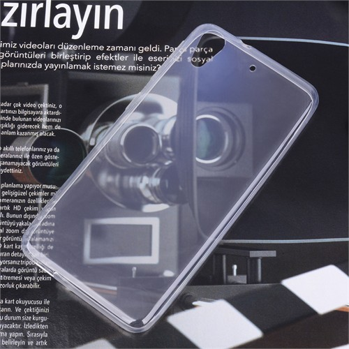 Ally Htc Desire 626 0.20Mm İnce Spada Soft Silikon Kılıf
