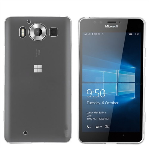 Ally Microsoft Lumia 950 20Mm Spada Ultra İnce Soft Silikon Kılıf