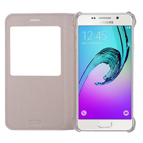 Ally Samsung Galaxy A5 A510 (2016) Pencereli Flip Kılıf
