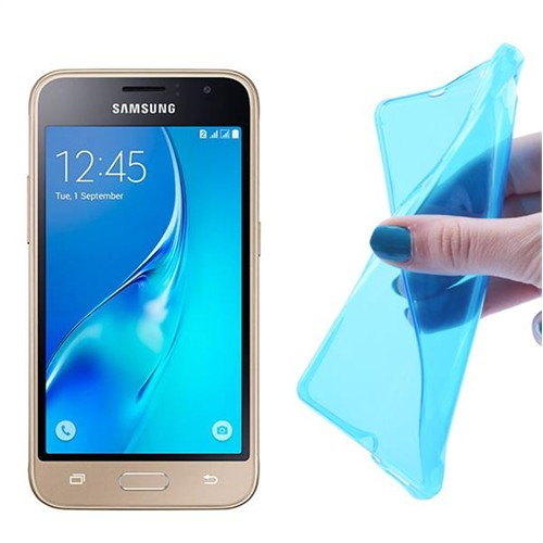 Ally Samsung Galaxy J1 (2016) J120 0.20Mm Spada Soft Silikon Kılıf