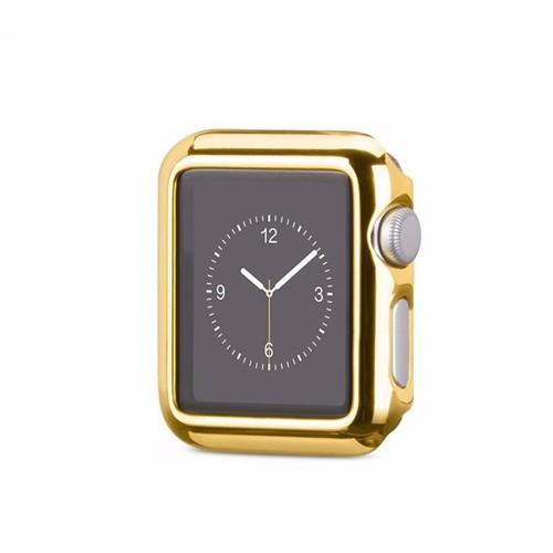 Ally Apple Watch 42Mm Lazer Kaplama Ultra Slim Şeffaf Silikon Kılıf