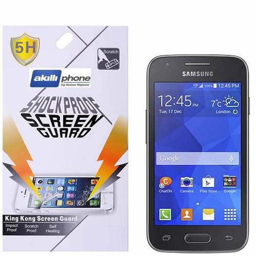 Ally Shockproof Galaxy Ace 4 G313 Darbe Emici Kırılmaz Parlak Ekran Koruyucu Jelatin