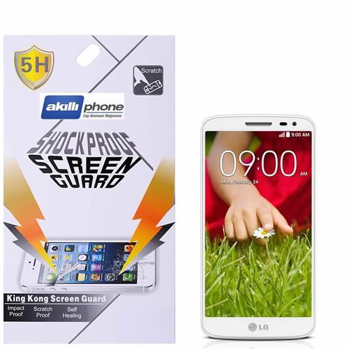 Ally Lg G2 Mini D620 Darbe Emici Kırılmaz Parlak Ekran Koruyucu Jelatin