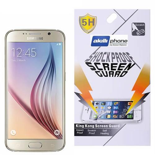 Ally Samsung Galaxy S6 G920 Darbe Emici Parlak Ekran Koruyucu Jelatin