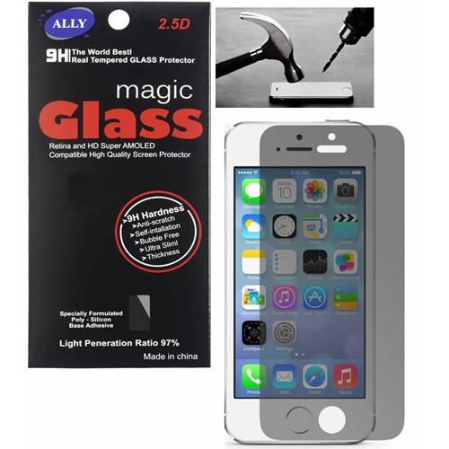 Ally Apple İphone 5G.5S Privacy Glass Gizlilik Kırılmaz Cam Ekran Koruyucu