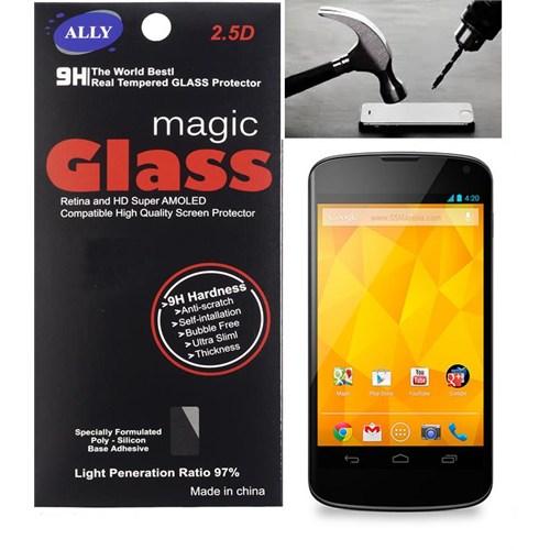 Ally Lg Nexus 4 E960 Kırılmaz Cam Ekran Koruyucu