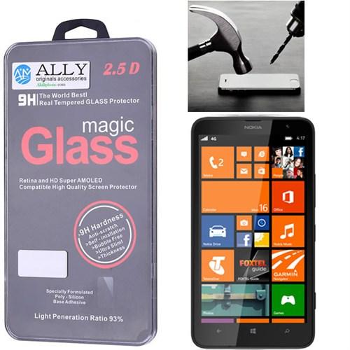 Ally Nokia Lumia 1320 Magic Glass Tempered Kırılmaz Cam Ekran Koruyucu