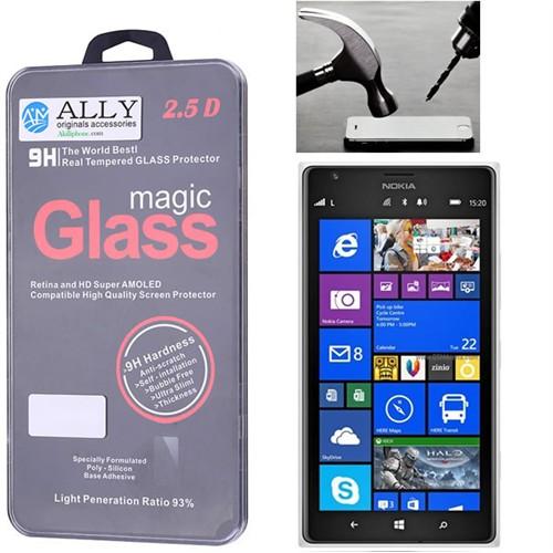 Ally Nokia Lumia 1520 Magic Glass Tempered Kırılmaz Cam Ekran Koruyucu