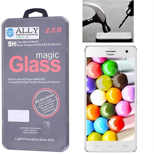 Ally Casper Via V8 Glass Tempered Kırılmaz Cam Ekran Koruyucu