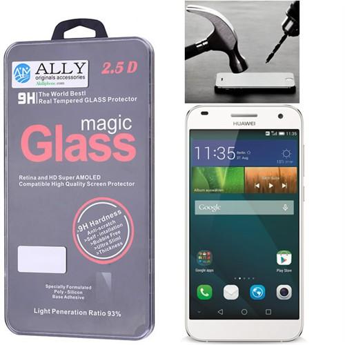Ally Huawei Ascend G7 Kırılmaz Cam Ekran Koruyucu