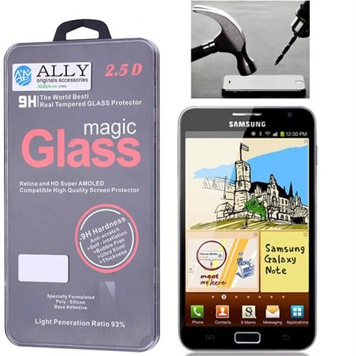 Ally Samsung Galaxy Note N7000, İ9220 Kırılmaz Cam Ekran Koruyucu