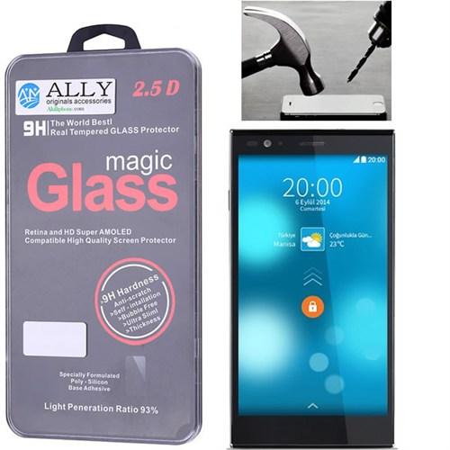 Ally Vestel Venus 5.0 X Magic Glass Tempered Kırılmaz Cam Ekran Koruyucu