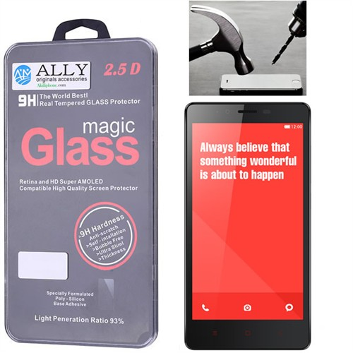 Ally Xiaomi Redmi Note Magic Glass Tempered Kırılmaz Cam Ekran Koruyucu