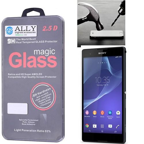 Ally Sony Xperia T2 Ultra Kırılmaz Cam Ekran Koruyucu