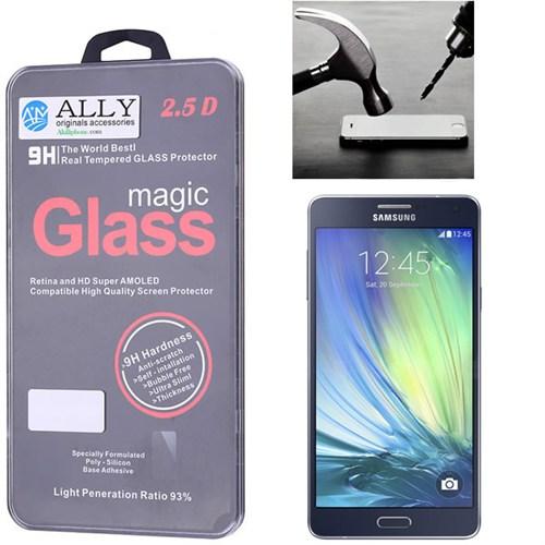 Ally Samsung Galaxy A7 A700 Kırılmaz Cam Ekran Koruyucu