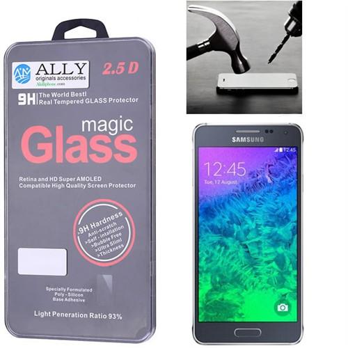 Ally Samsung Galaxy Alpha G850 Kırılmaz Cam Ekran Koruyucu