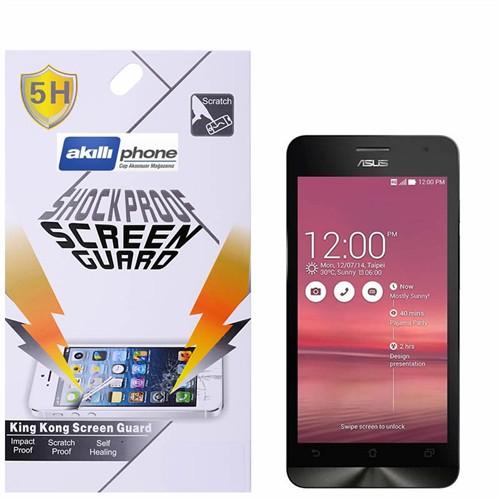 Ally Shockproof Asus Zenfone 5 Darbe Emici Kırılmaz Parlak Ekran Koruyucu Jelatin