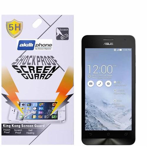 Ally Shockproof Asus Zenfone 6 Darbe Emici Kırılmaz Parlak Ekran Koruyucu Jelatin