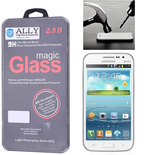 Ally Samsung Galaxy Win İ8552 Kırılmaz Cam Ekran Koruyucu