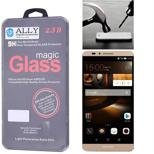Ally Huawei Ascend Mate7 Kırılmaz Cam Ekran Koruyucu