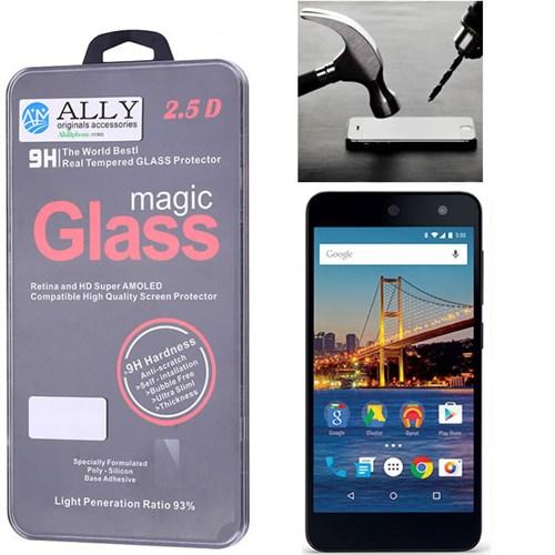 Ally General Mobile 4G Tempered Kırılmaz Cam Ekran Koruyucu
