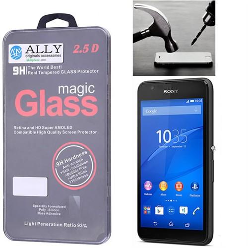 Ally Sony Xperia E4g E2003 Tempered Kırılmaz Cam Ekran Koruyucu