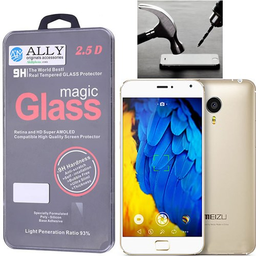 Ally Meizu Mx4 Pro 5.5 Glass Tempered Kırılmaz Cam Ekran Koruyucu