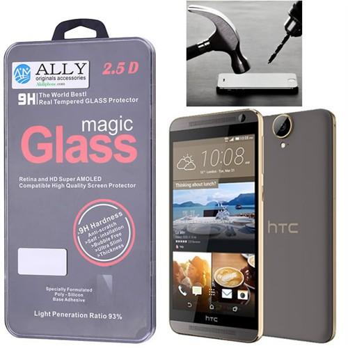 Ally Htc E9 Glass Tempered Kırılmaz Cam Ekran Koruyucu